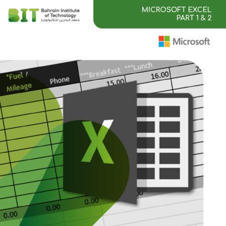 Microsoft Excel Part 2 & 1
