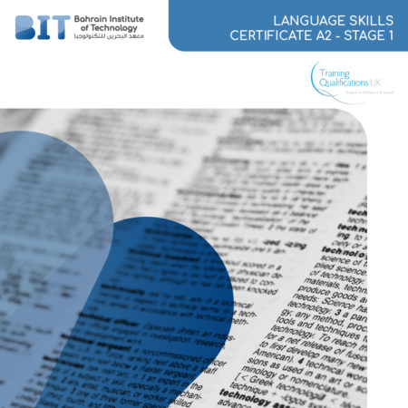 LANGUAGE SKILLS CERTIFICATE A2 – STAGE 1